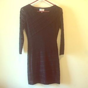 NWOT M.S.S.P. Black lace dress